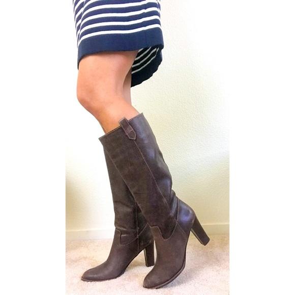 33e0302f4f0 Banana Republic Brown Leather Boots